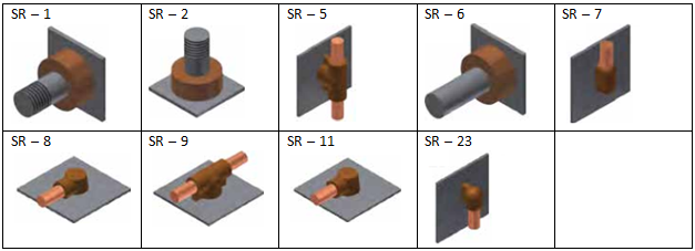 Exothermic-Welding-Rod-or-Stud-to-Surface-Steel-Plate-Connection